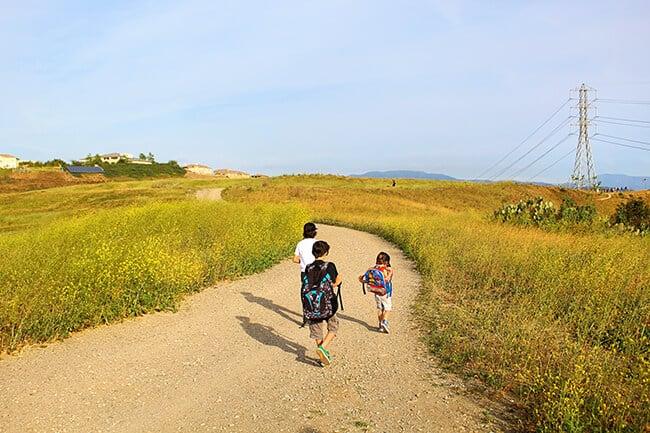 Orange County California Hiking
