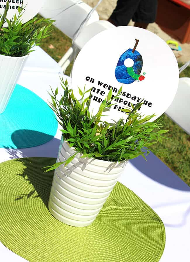 The Hungry Caterpillar Birthday Party Decorations