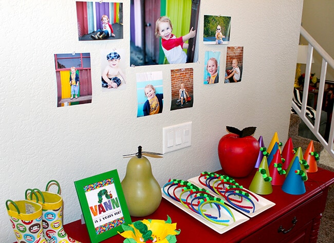 The Hungry Caterpillar Party Ideas