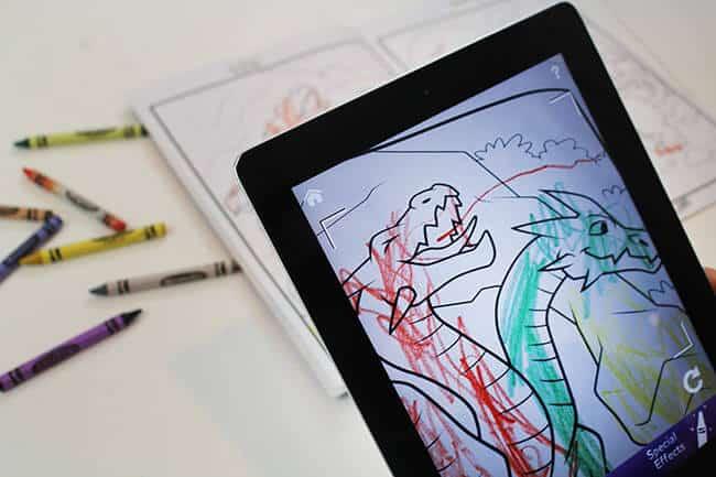 iPad Crayola Coloring Books
