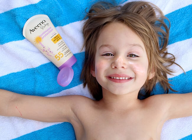 Aveeno Baby Sunscreen Hypoallergenic Lotion