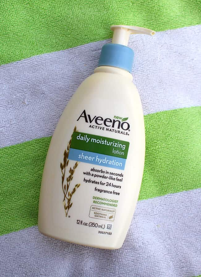 Aveeno Sheer Moisturizer Lotion