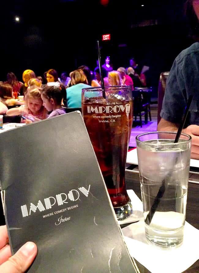 Best Orange County Comedy Club Dining