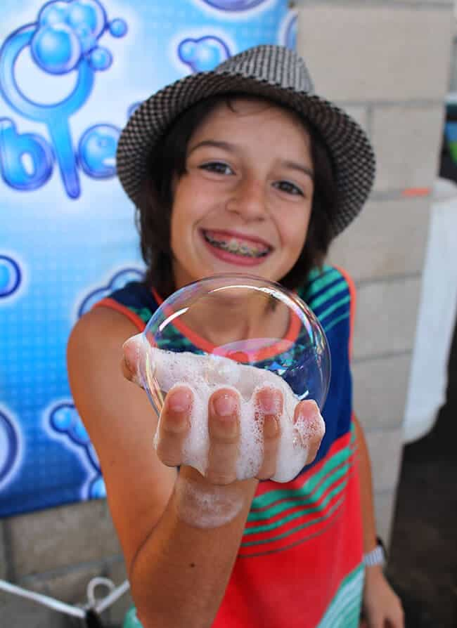 Bubblefest Discovery Science Center Hands On