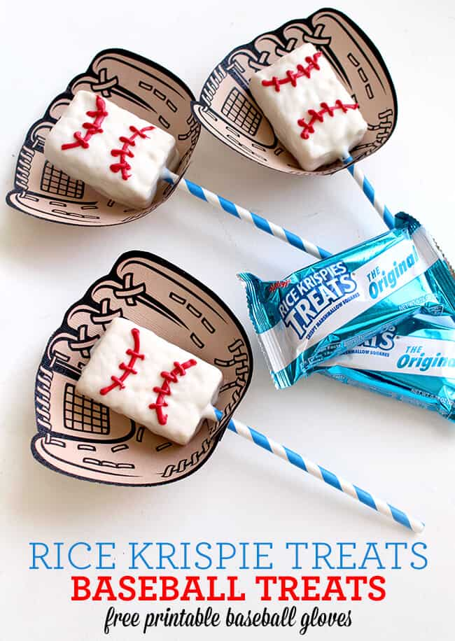 Game Day Treat Printables