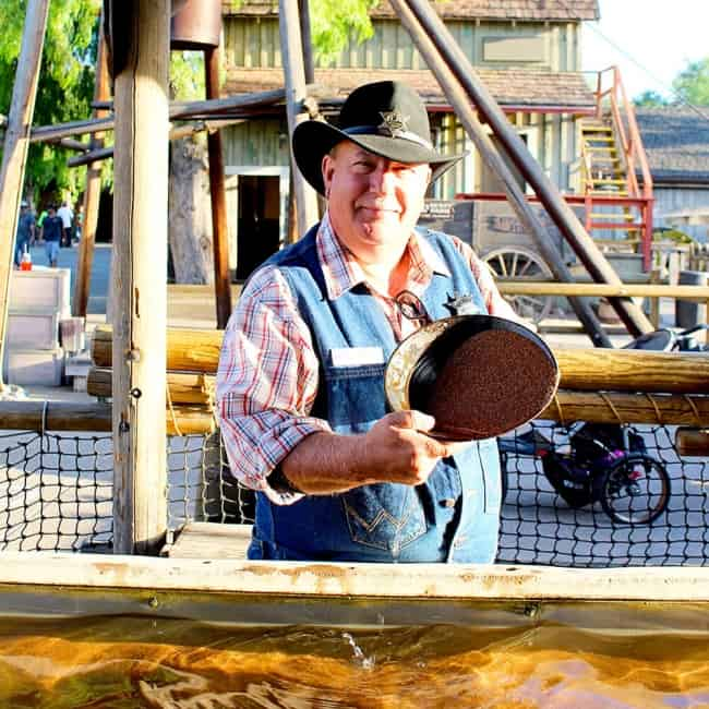 How to Pan for Real Gold at Knott's