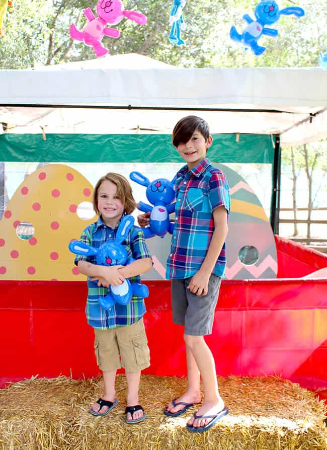 Irvine Park Railroad Carnival Games Easter