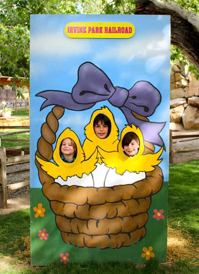 Irvine Park Railroad Eggstravaganza