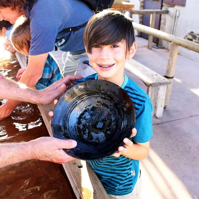 Knott's Panning for gold expereince