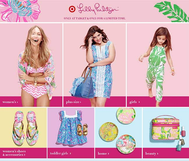 Lilly Pulitzer for Target Orange County