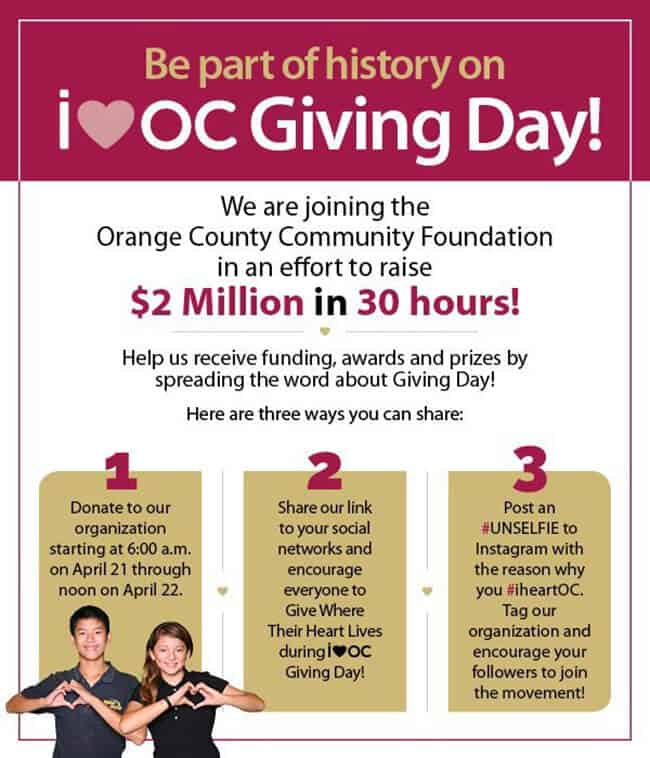 orange county charities