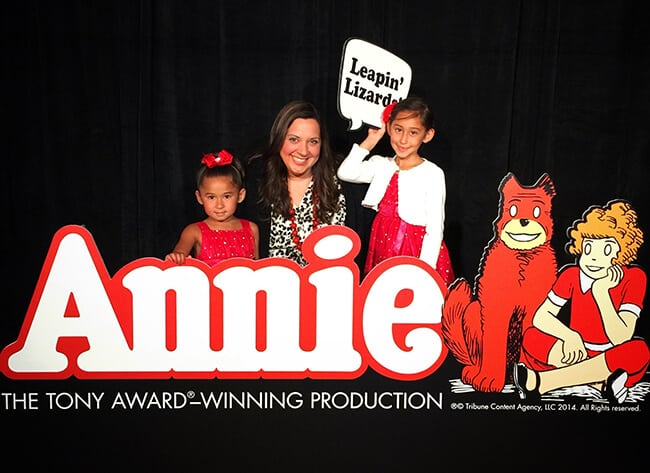 Annie the Musical at the Segerstrom