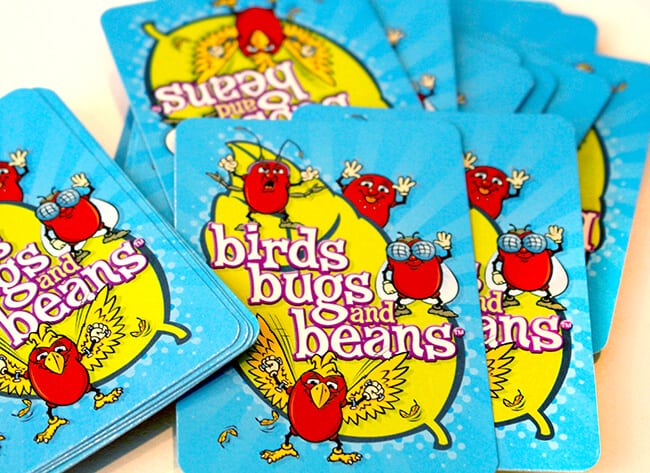 Family Game Night Bird Bugs and Beans