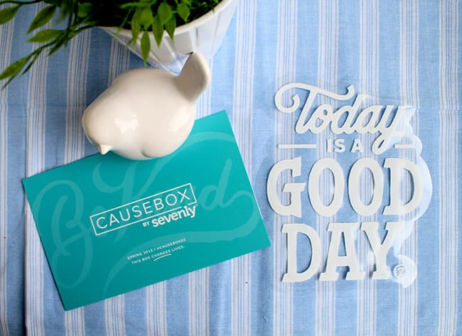This is a Good Day Decal by Sevenly CauseBox