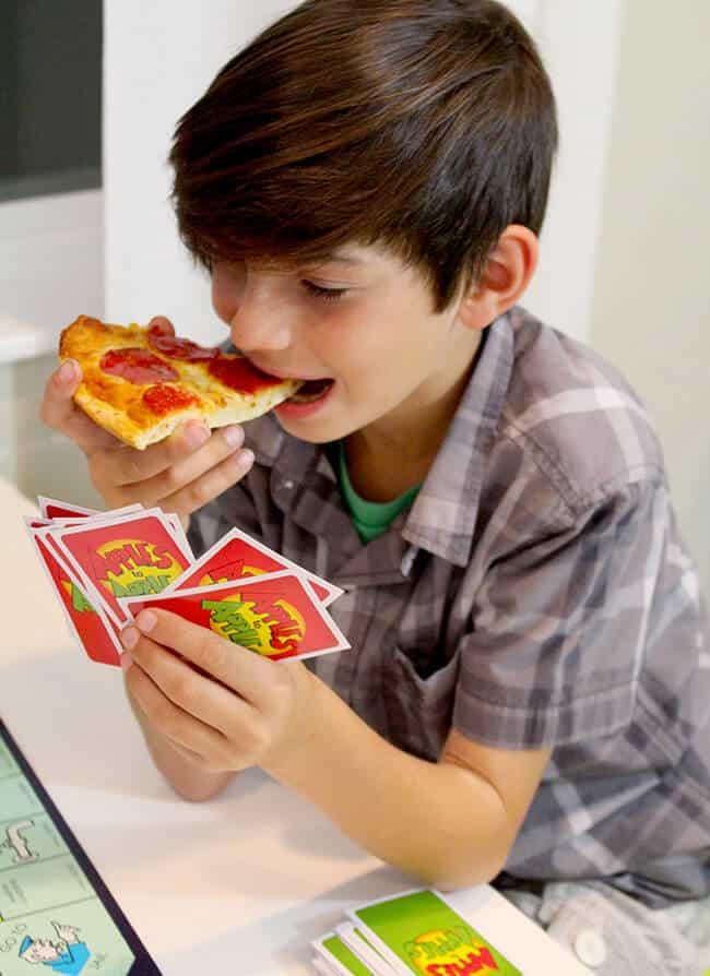Tony's Pizza Family Game Night Ideas