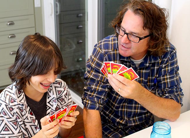 Tony's Pizza Family Game Night