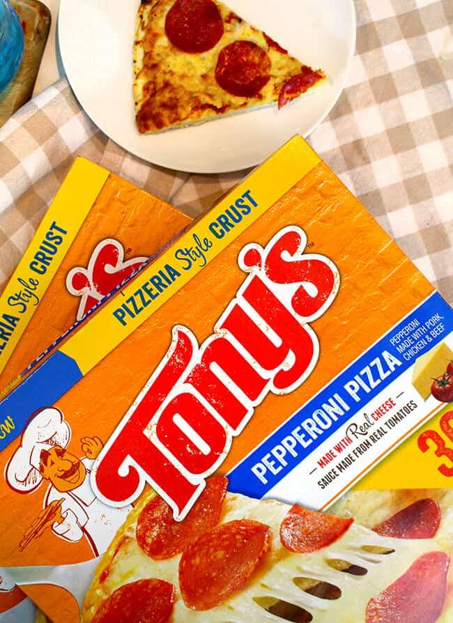 Tony's Pizza Home-baked Pizza