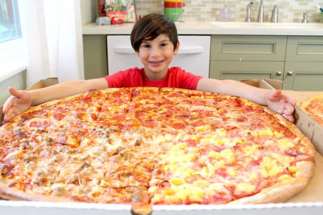 Best Giant Pizza Orange County