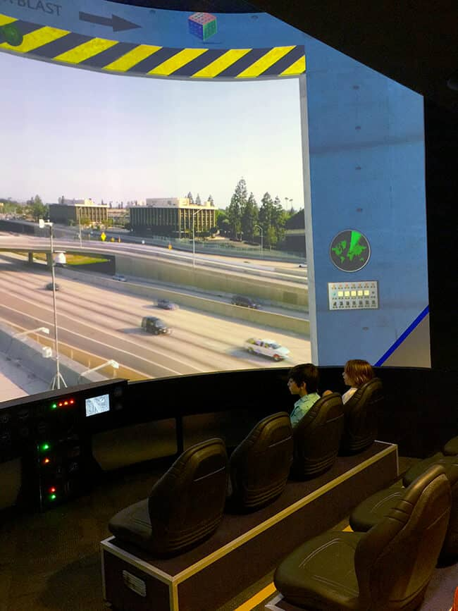 Discovery Cube Helicopter Simulator