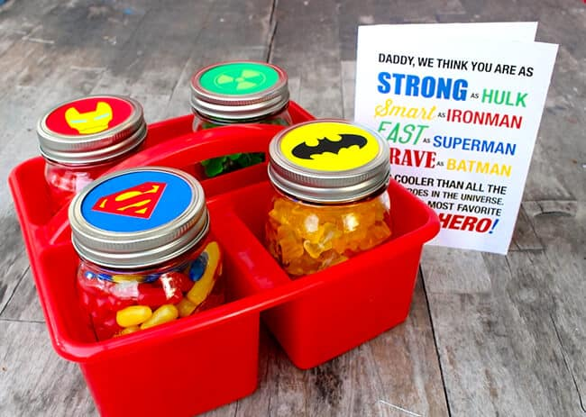 Free Father's Day Superhero Free Printable