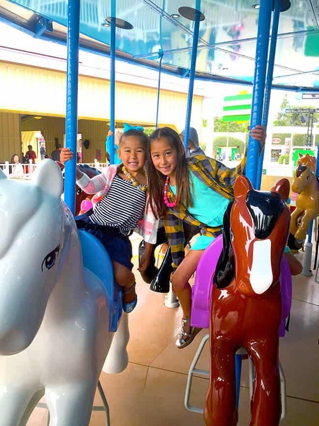 Heartlake City Merry Go Round at Legoland