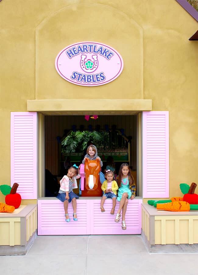 Heartlake City Stables at Legoland