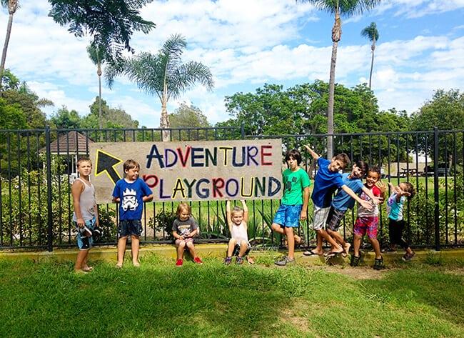 Huntington Beach Adventure Playground Mud Park