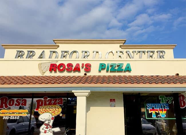 Rosa's Pizza Placentia