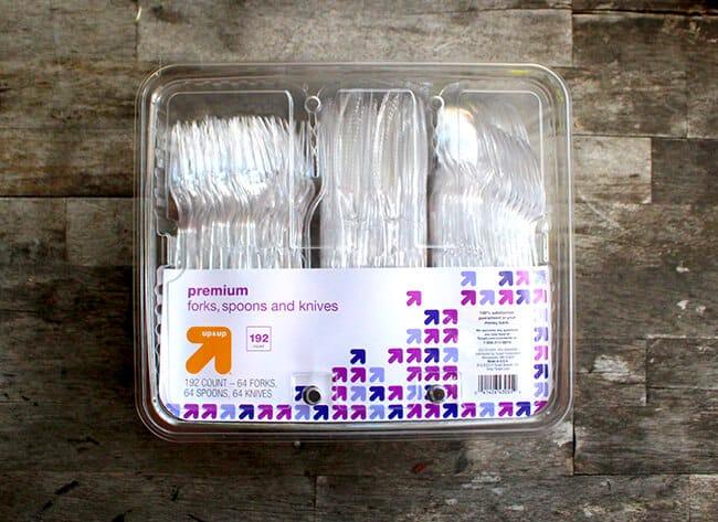 Target Essentials Plastic Utensils