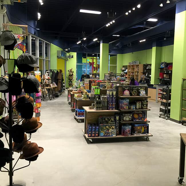 The Discovery Cube Gift Shop Store