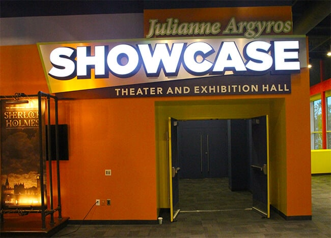 The Discovery Cube Showcase Theater