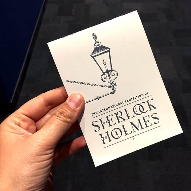 Traveling Sherlock Holmes Experience at Discovery Cube