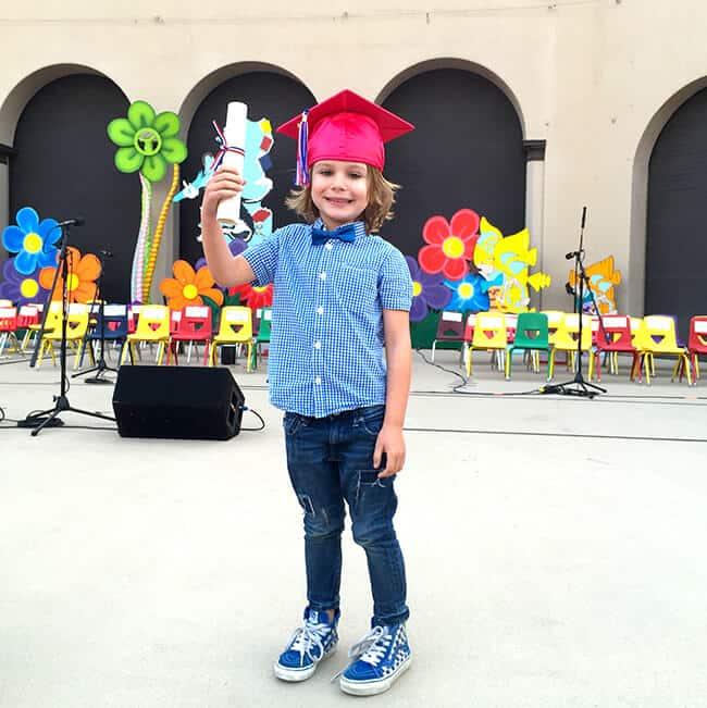 Vann Tiny Tots Graduation