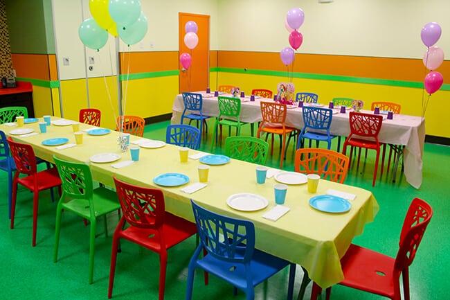 Billy Beez Anaheim Birthday Party Room