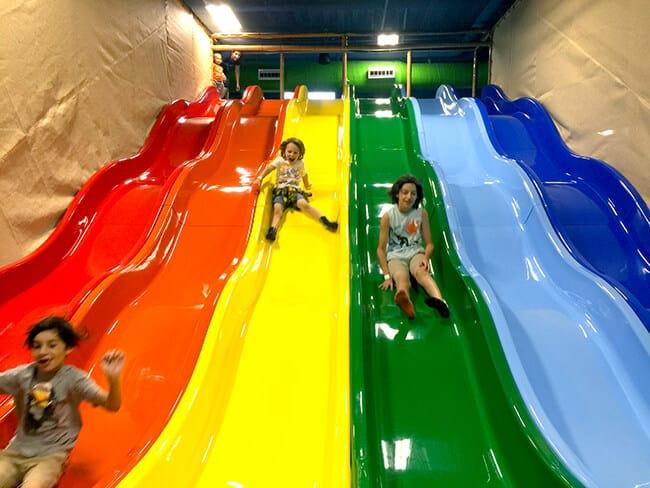 Billy Beez Anaheim Fun Rainbow Slide