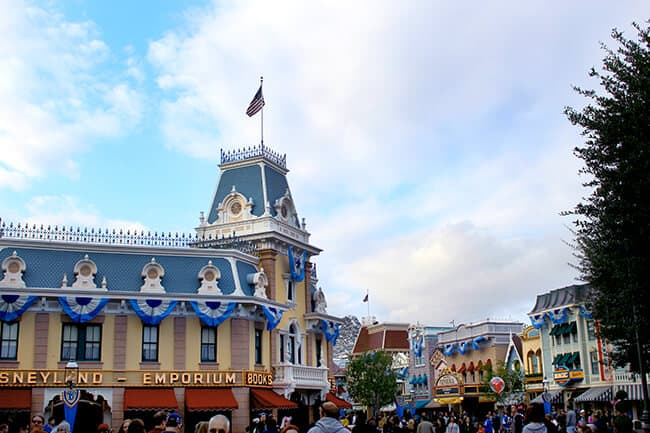 Disneyland 60th Anniversary Main Street