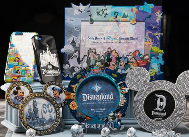 Disneyland 60th Anniversary Merchandise