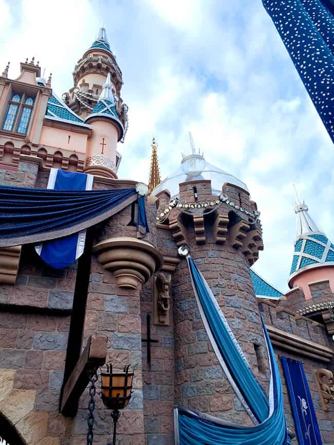Disneyland 60th Celebration Sleeping Beauty Castle