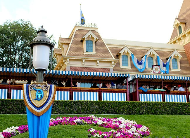 Disneyland 60th Diamond Celebration Decorations