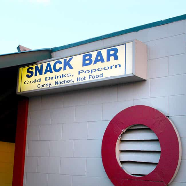 Drive In Movie Theater Snackbar