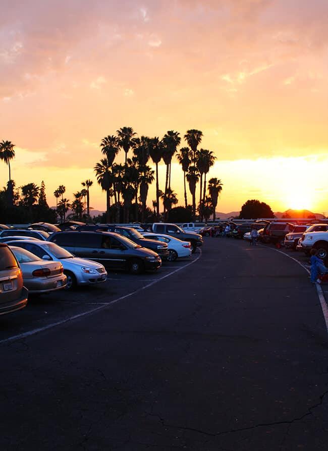 Drive In Movie Theater near Orange County