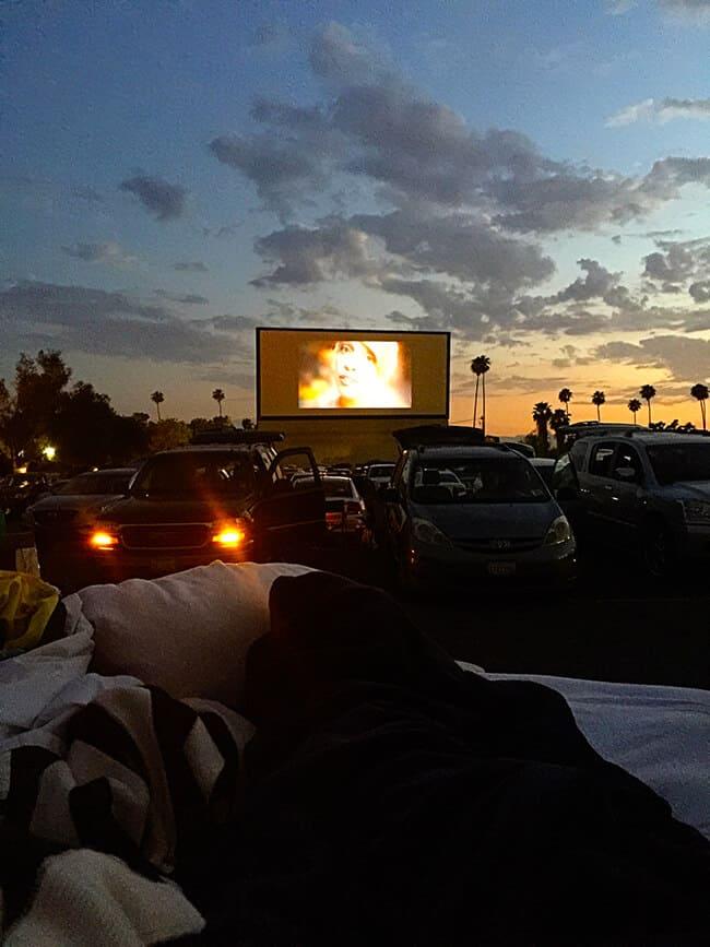 Riverside Outdoor Movie Theater