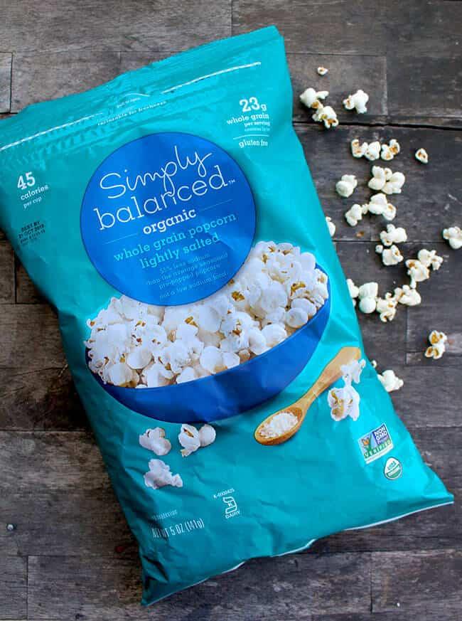 Target Organic Popcorn