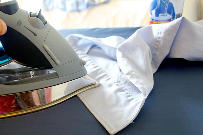 The Best Way to Iron A Shirt