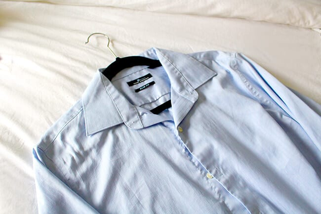 The right way to Iron a Shirt