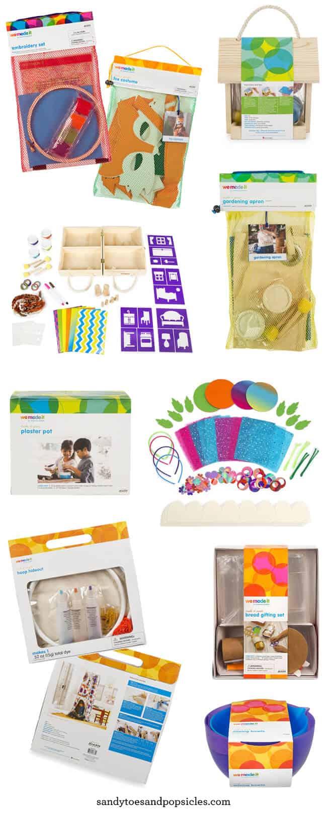 We Made It Craft Kits for Kids by Celebrity Jennifer Garner