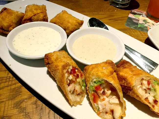 California Pizza Kitchen Avocado Egg Rolls
