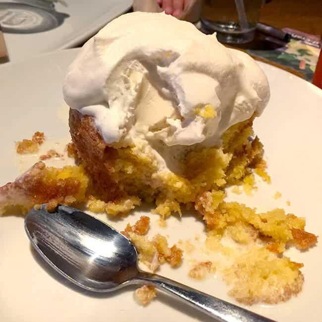 California Pizza Kitchen Butter Cake