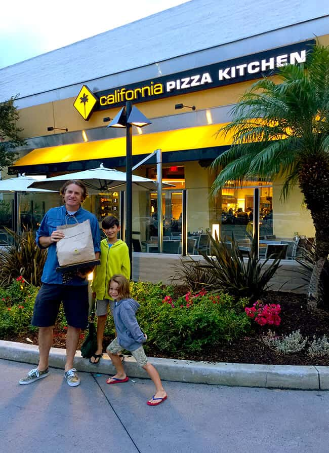 California Pizza Kitchen Food