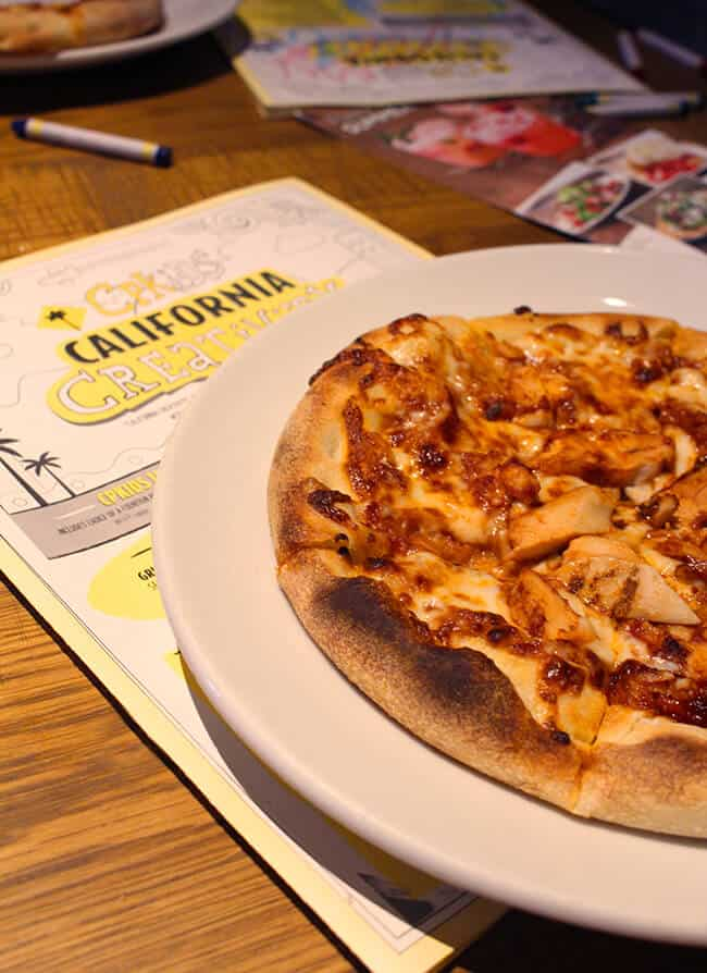 California Pizza Kitchen Kids Meals